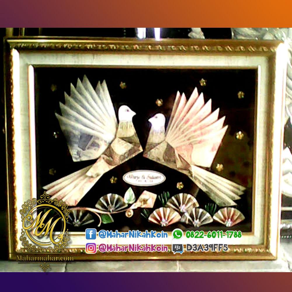 Mahar Pernikahan Burung Merpati